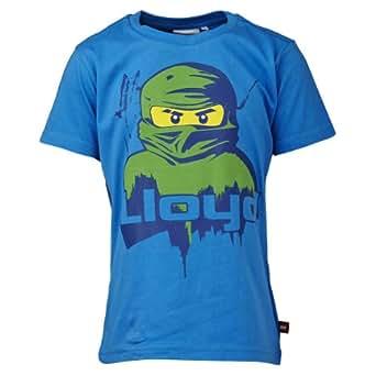 Lego wear - ninjago lloyd - t-shirt - garçon - bleu (blue) - 5 ans