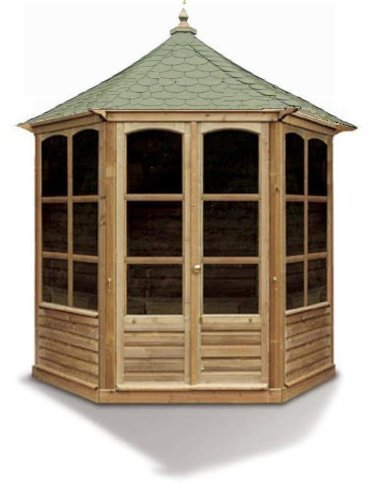 Harrogate Octagonal Wooden Summerhouse Pavilion (Large)