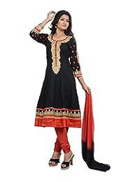 Sareeshut Women's Cotton Regular Fit Anarkali Suits - B00WQZ1RUO