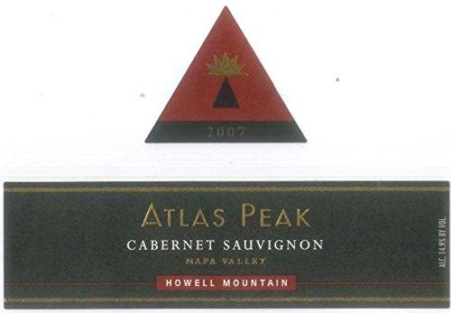 2007 Atlas Peak Cabernet Sauvignon , Howell Mountain 750 Ml