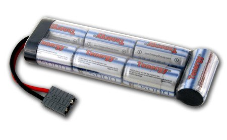 8.4V Tenergy 5000mAh Flat NiMH Battery Pack with Traxxas Connector