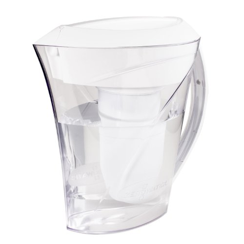 Zerowater 8-Cup Water Flitration Pitcher, Clear