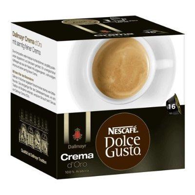 2 XNescafé Dolce Gusto Dallmayr Crema d´Oro, Pack of 3, 3 x 16 Capsules
