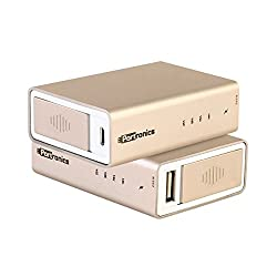 Portronics Golden Cube 5200mAh PowerBank (Golden)