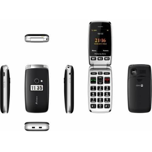 Téléphone mobile Doro Primo 413 Noir
