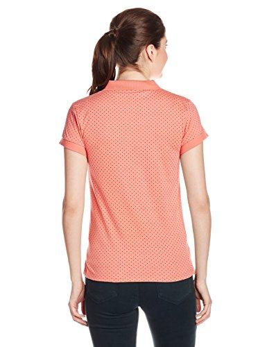 Park-Avenue-Womens-Polka-Dot-T-Shirt