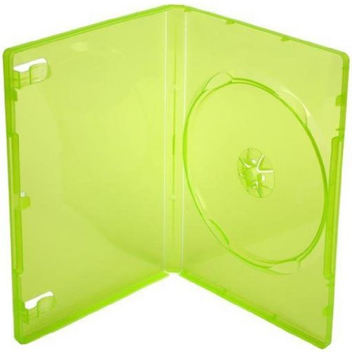Four Square Media 1 X Xbox 360 Replacement Game Cases Translucent Green - Pack Of 1