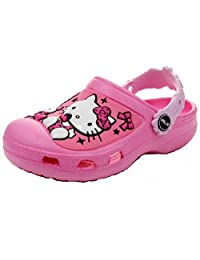 Kid's Toddler's Girl's 3d Hello Kitty Clogs Sandals