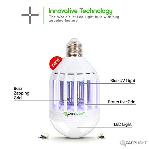 Zapplight Lightbulb Mosquitoes Chemical Lighting