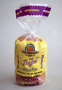Kinnikinnick Gluten Free Soft Blueberry Bagels, Case of 6 [Misc.]