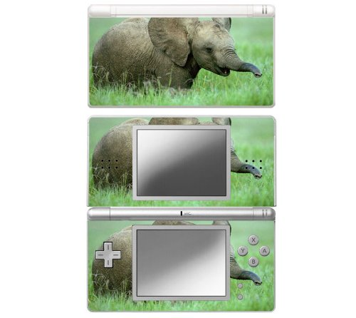 Baby Elephant Decorative Protector Skin Decal Sticker for Nintendo DS Lite
