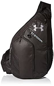 Amazon.com: Under Armour Compel Sling Backpack, Black (001
