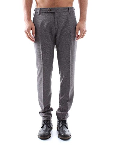 MICHAEL COAL MC102 ELAS12 GREY PANTALONE Uomo GREY 31
