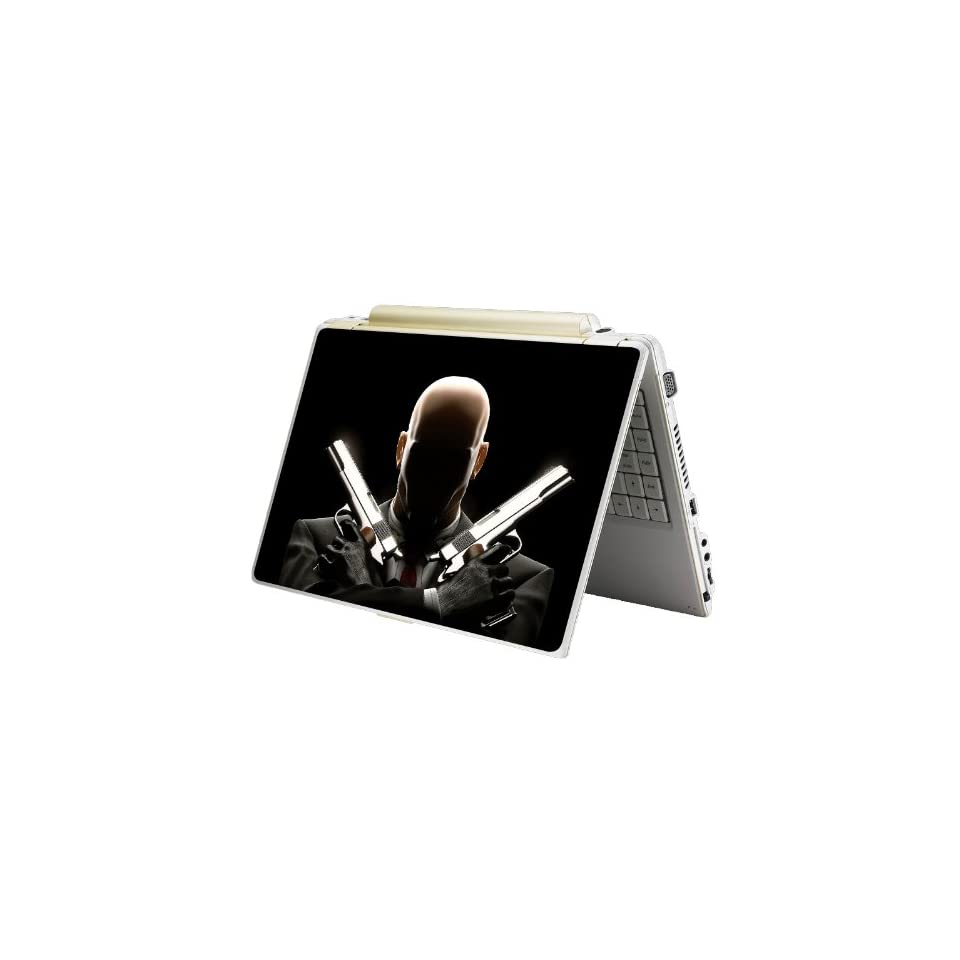 Bundle Monster Laptop Notebook Skin Sticker Cover Art Decal   12 14 15   Fit HP Dell Asus Compaq   Hitman