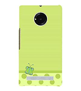 Butterfly Lines 3D Hard Polycarbonate Designer Back Case Cover for YU Yureka AO5510