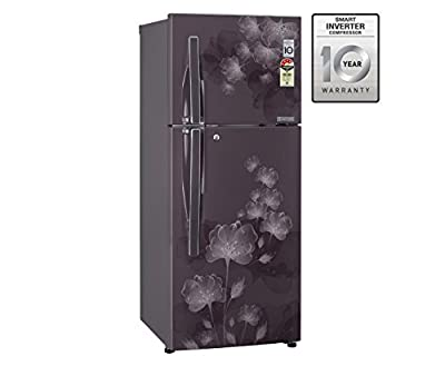 LG GL-322JGFL Frost-free Double-door Refrigerator (310 Ltrs, 4 Star Rating, Graphite Florid)