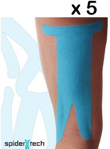 SpiderTech Kiensiology Tape Pre Cut for Hamstring x 5