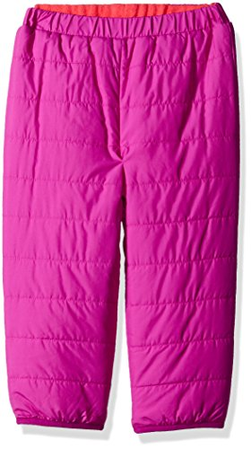 Columbia Baby Girls Double Trouble Pant, Bright Plum/Punch Pink, 3-6 Months