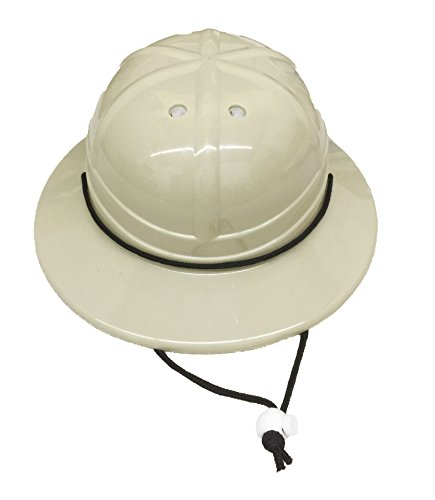 GiftExpress Kids' Hard Plastic Safari Pith Helmet