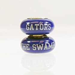 Florida Gators Small Glass Bead