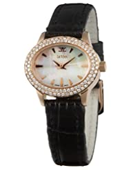 Le Vian Women's ZAG 100 Delano Mini 18K Rose Gold Diamond Watch