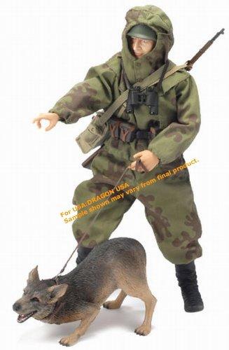 ドラゴン 1/6 ソビエト赤軍 偵察兵 軍曹 ヴァディム・アントノヴィッチ・ポポフ w/偵察犬 バグラチオン作戦 ベラルーシ 1994年