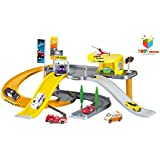 Toys Bhoomi Modern City Parking Lot Garage Play Set