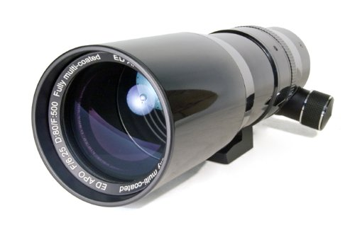 Levenhuk Ra R80 Ed Doublet Ota Apochromatic Refractor 80 Mm Fully Multi-Coated Optics Case