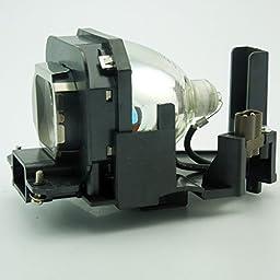 CTLAMP ET-LAX100 OEM(Original Bulb and Generic Housing) for Panasonic PT-AX100 PT-AX100E PT-AX100U PT-AX200 PT-AX200E PT-AX200U TH-AX100 ETLAX100 Projector