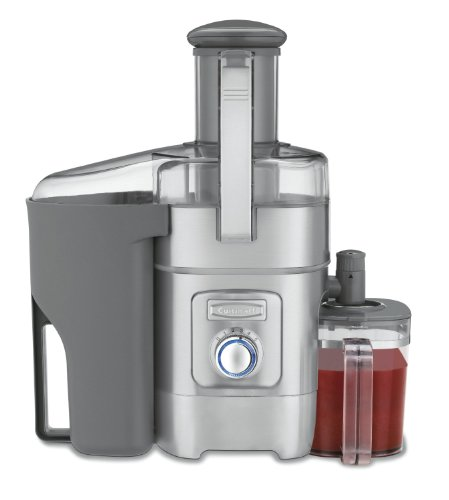 Cuisinart 1000 Watt 5 Speed Quiet Operation Juicer with 3 Inch Feed Tube Features Anti Foam/Drip Management, Stainless Steel Housing and Dishwasher Safe Parts (Juice Maker Cuisinart compare prices)
