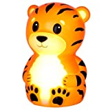 American Innovative Terry The Tiger Portable Night-Light with Rainbow Color Change by Patch Products LLC