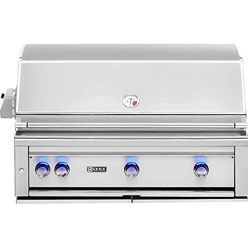 Lynx L42Asr-Ng All Pro Sear Built-In Natural Gas Grill With Rotisserie, 42-Inch