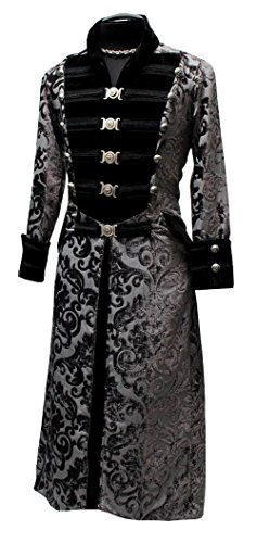 Shrine-Dominion-Gothic-Victorian-Underworld-Vampire-Military-Tapestry-Jacket-Coat