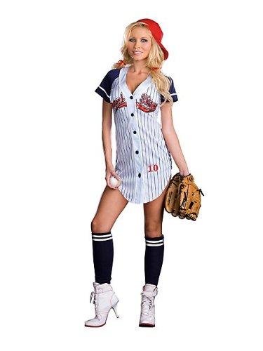 Sexy Baseball Girl Halloween Costumes