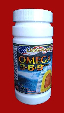 Luckyland Omega 3-6-9 Blend, 50 Softgels
