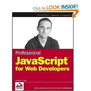 Professional JavaScript for Web Developers  - Nicholas C. Zakas