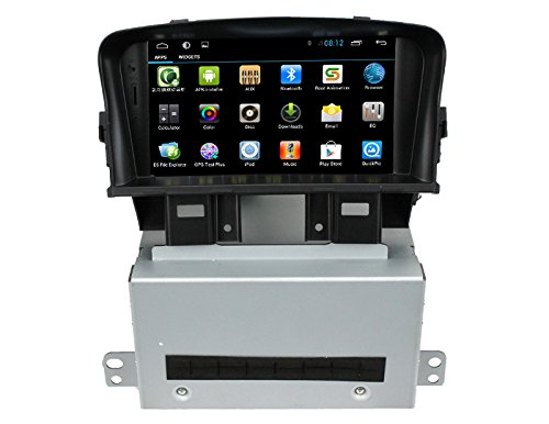 ZNYSTAR Quad Core 1024600 in Dash GPS Navigation Car Stereo Touch Screen Radio GPS Navigation for Android Chevrolet Cruze (2008-2011)/Daewoo Lacetti Premiere(2008-2011)/holden Cruze(2008-2011) (Chevy Cruze Gps compare prices)