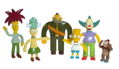 Simpsons Krusty Show Bendable Box SetB0000E3BUE