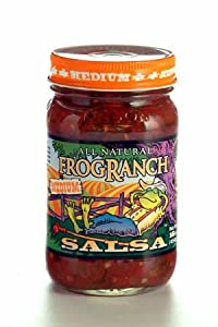 Frog Ranch All-natural Medium Salsa