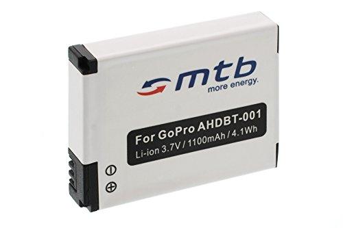 Batterie ABPAK-001, AHDBT-001, AHDBT-002 pour Gopro Hero / HD Hero / HD Hero 2