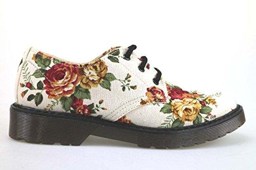 scarpe donna MADAME PIGALLE classiche tessuto multicolor AM787 (36 EU)