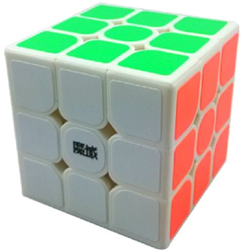 Yj Moyu Dianma 3X3X3 Speed Cube Puzzle Smooth Small White