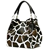 FASH Animal Print contemporary Style Tote Handbag
