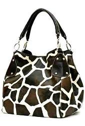 FASH Animal Print contemporary Style Tote Handbag