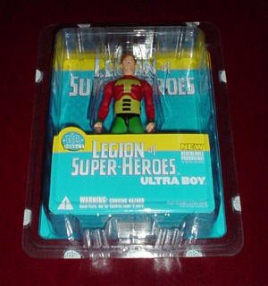 "Legion of Super-Heroes: Ultra Boy, 6"" Poseable Action Figure"