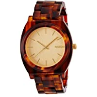 [ニクソン]NIXON TIME TELLER ACETATE: GOLD/MOLASSES NA3271424-00 メンズ 【正規輸入品】