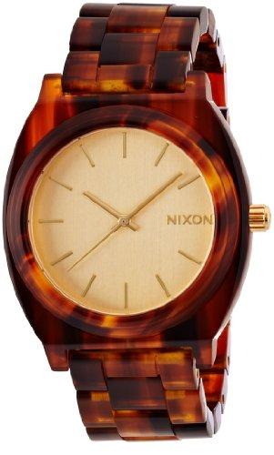[ニクソン]NIXON TIME TELLER ACETATE: GOLD/MOLASSES NA3271424-00 メンズ 【正規輸入品】