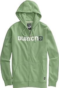 Burton Herren Kapuzenjacke Logo Horizontal Fullzip, heather sweet leaf, M, 267411