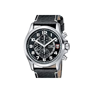 Luminox Automatic Valjoux Field Chronograph 1860 Series Black Dial men's watch #1861