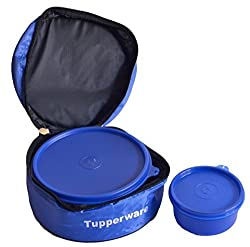 Tupperware Classic Lunch Box and 1 Aquasafe Water Bottle 500ml (4.00)